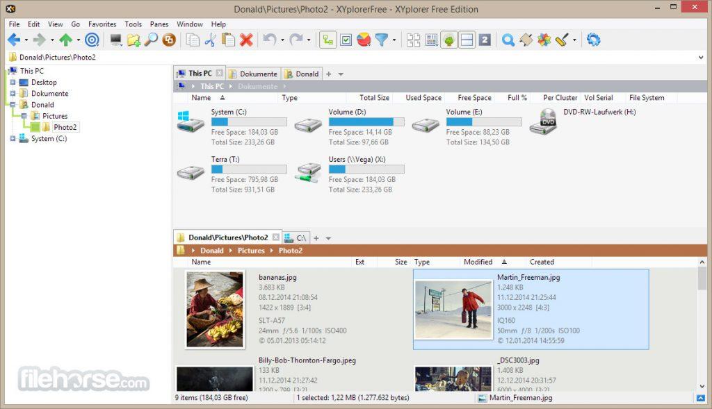 XYplorerFree for PC free