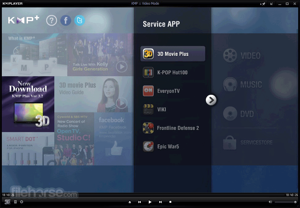 Download KMPlayer for PC 64bit
