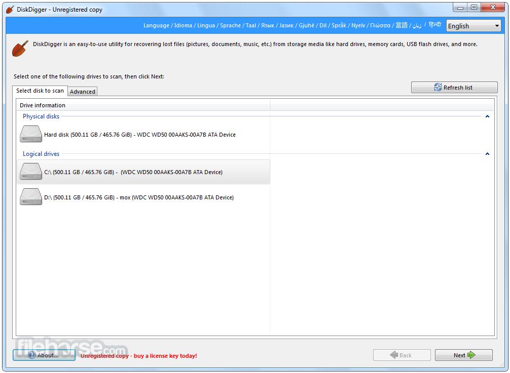 Download DiskDigger for Windows