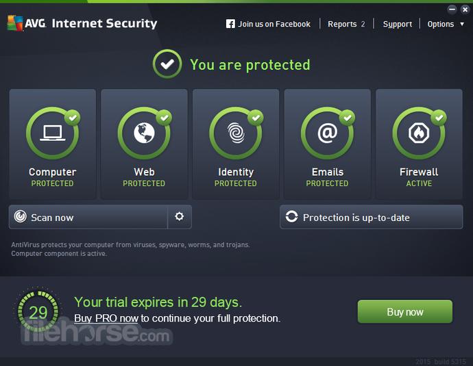 AVG Internet Security offline setup