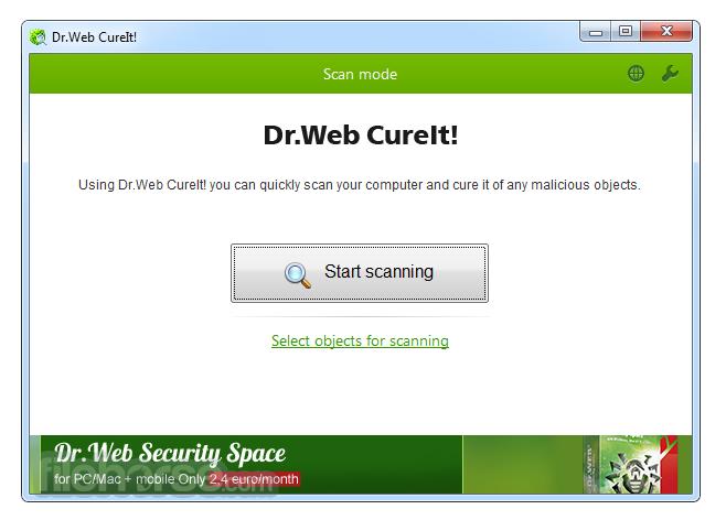 download Dr.Web CureIt free