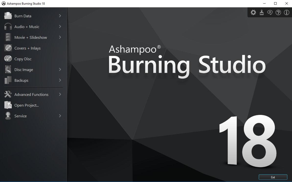 Ashampoo Burning Studio exe setup