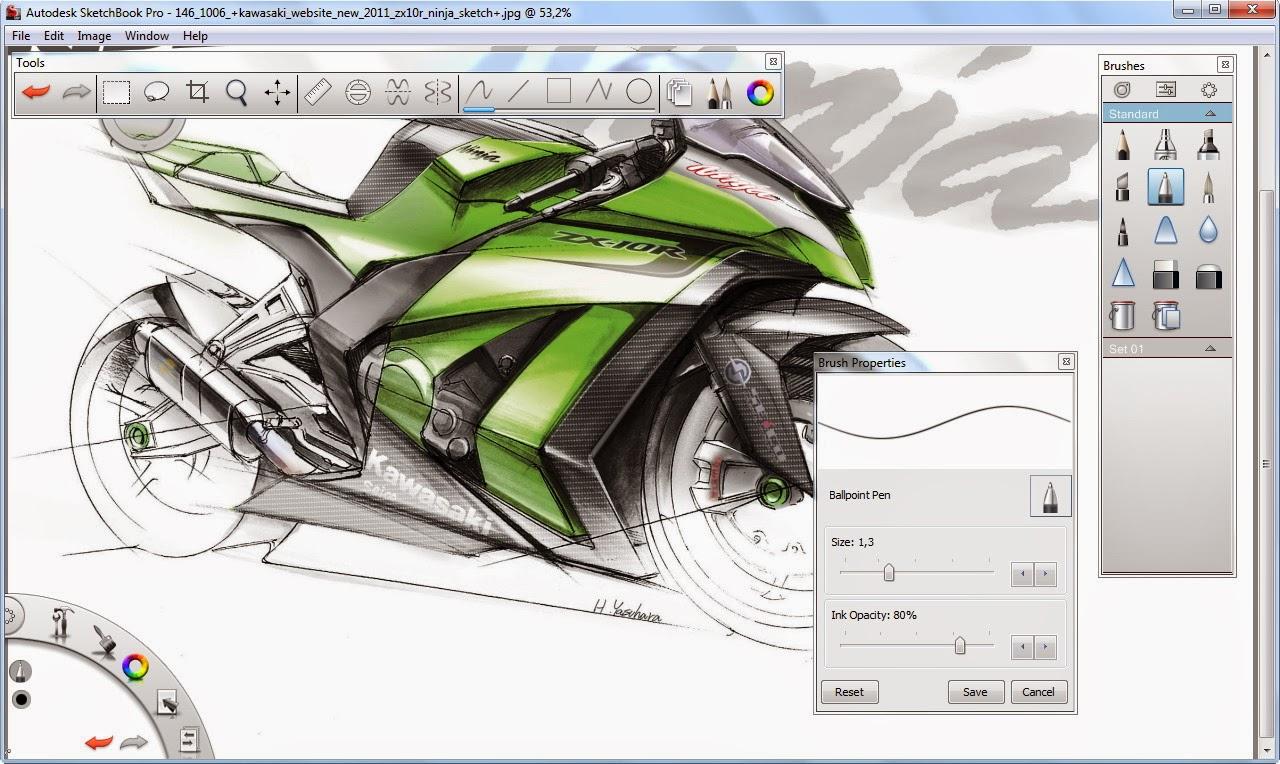 SketchBook offline setup exe