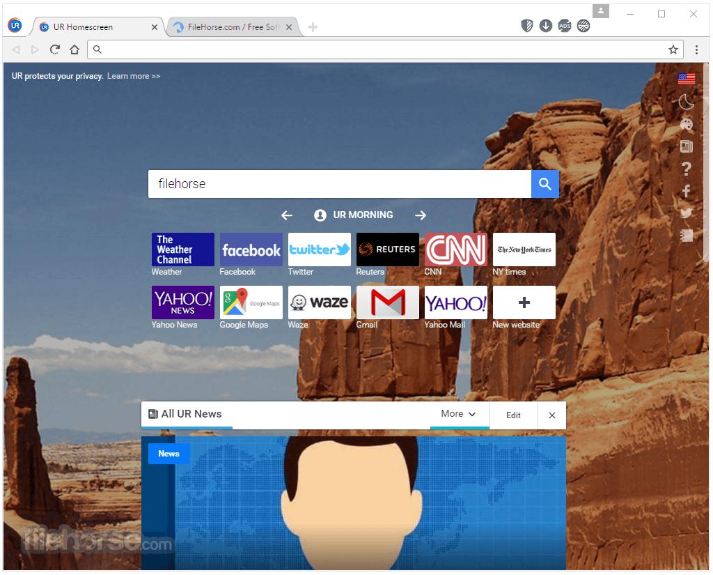 UR Browser offline installer