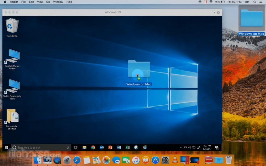 Parallels Desktop Mac version